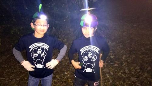 寒さと静寂の中、そして何より不便な「暗闇」の中、 子どもたちは何を感じたのでしょうか? 暗いからこそ、足元や身の回りの「リスク」に敏感になる。 私生活の中でも十分にアドベンチャーな時間なのです。